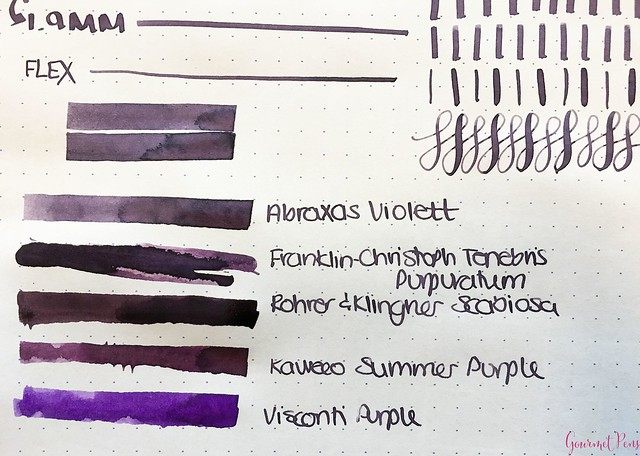 Ink Shot Review Abraxas Violett of Switzerland @laywines 3