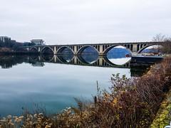 Key Bridge in Winter