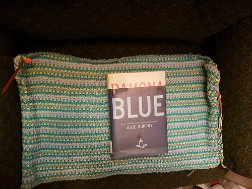 Half-Finished Blanket and Finished Novel