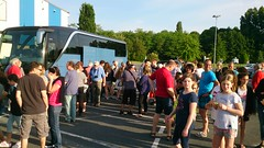 28. Mai 2017 - 7:59 - Vor der Abfahrt des Vlothoer Busses zur Rückkehr nach Vlotho am 28. Mai