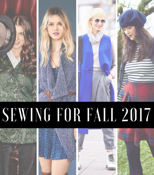 Sewing for Fall 2017