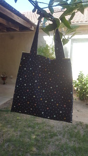 Patchwork bag made with Desert Bloom by Moda.