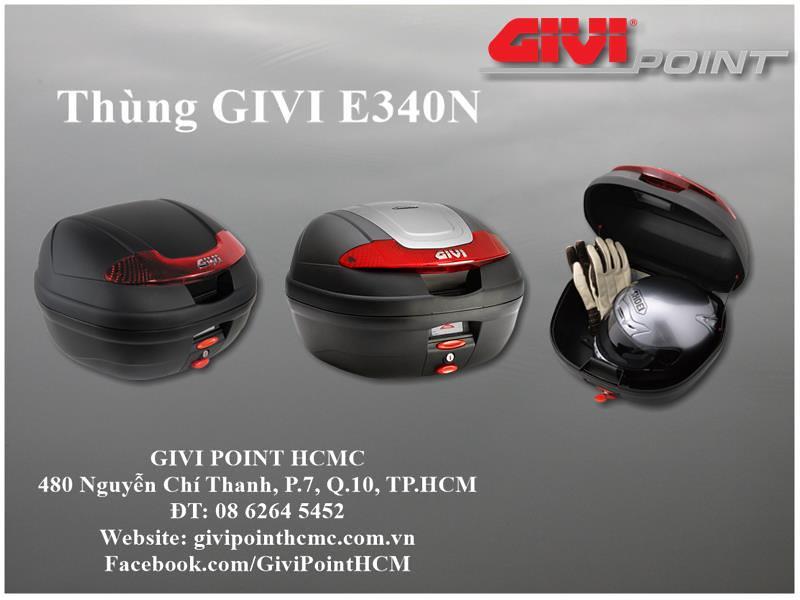 Thung xe Givi - 9