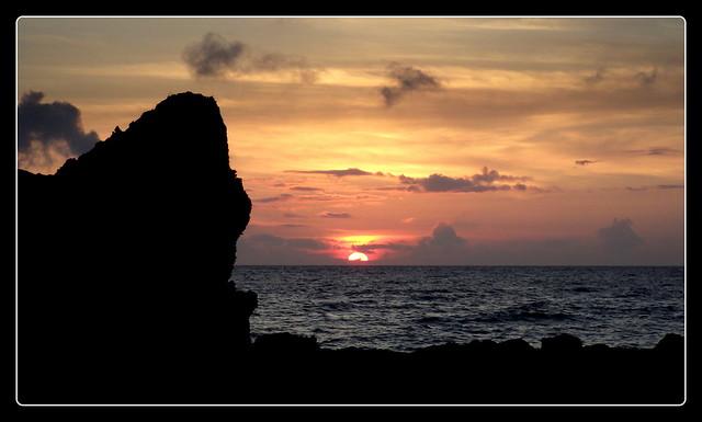 SATURDAY SUNSET AT ONNA POINT