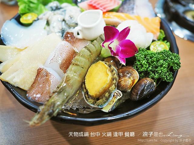 天物成鍋 台中 火鍋 逢甲 餐廳  55