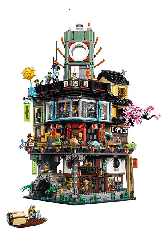 The LEGO Ninjago Movie 70620 Ninjago City 2