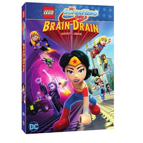 Zwiastun Lego DC Super Hero Girls Brain Drain