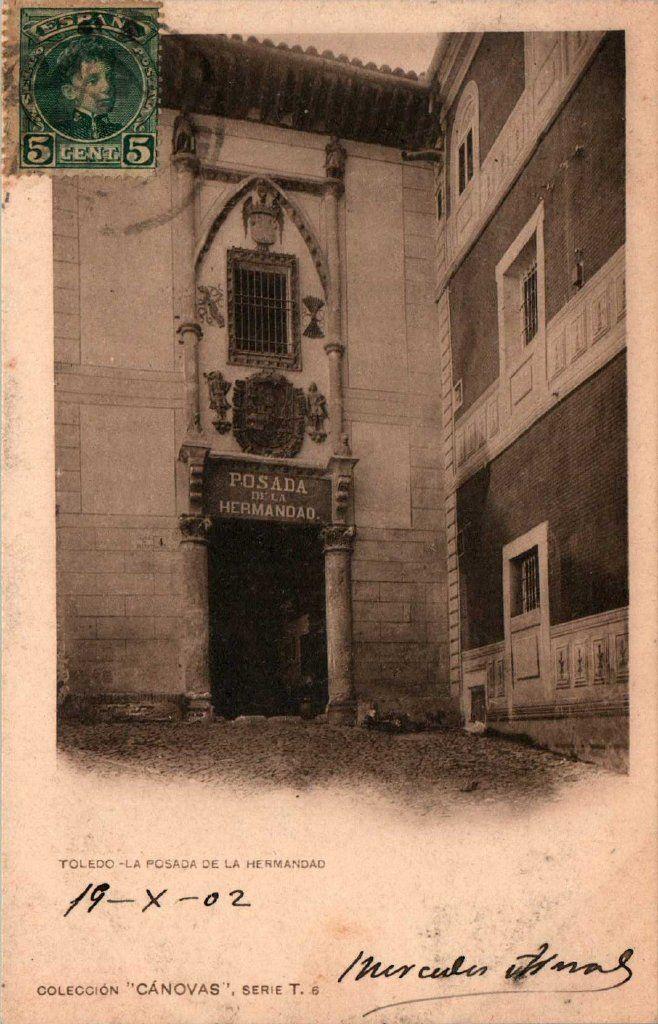 Posada de la Hermandad  hacia 1900. Fotografía de Antonio Cánovas del Castillo, Dalton Kaulak.