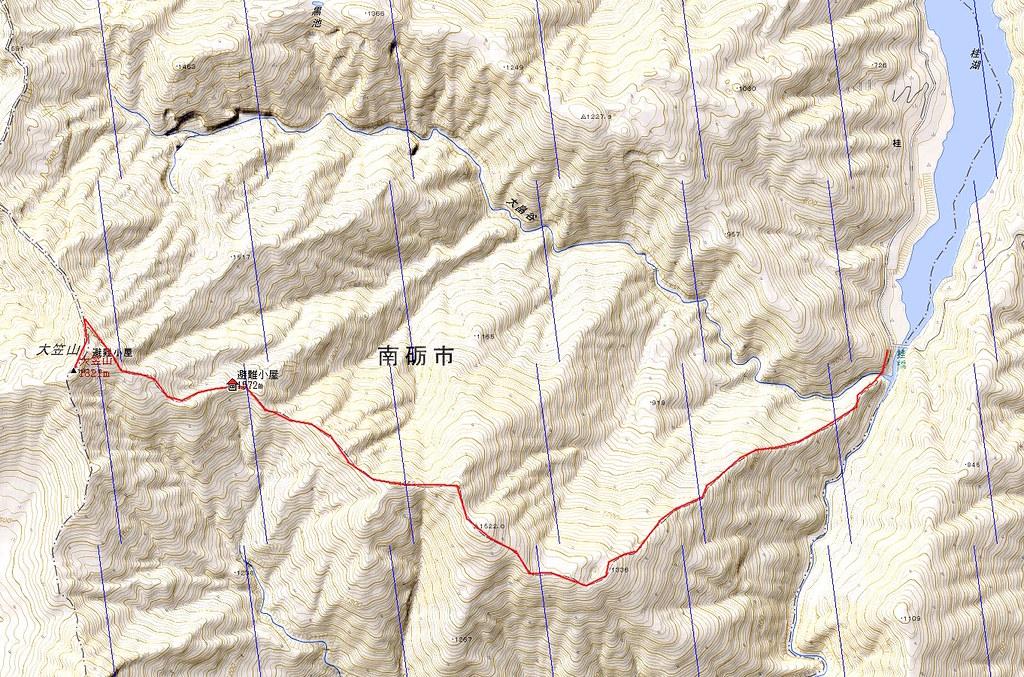 大笠山例会中止^^;