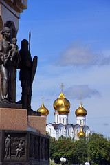Yaroslavl Cathedral & 1000th Anniversary monument, Russia