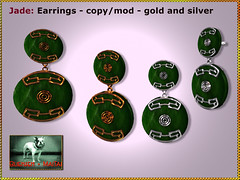 Bliensen - Jade - earrings