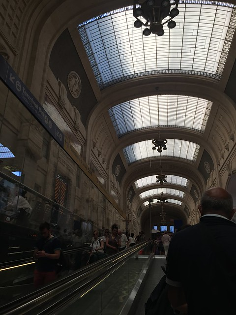 Milano Centrale to Venezia Santa Lucia–Jenna, June 18, 2017 ...