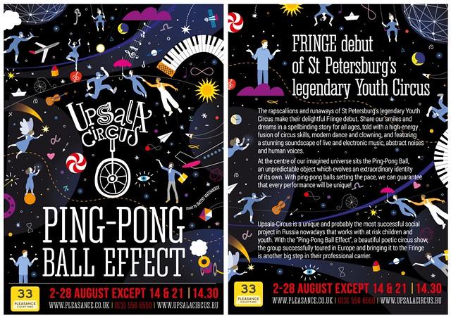 Edinburgh Fringe_flyer for Upsala Circus