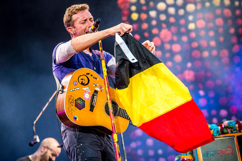 Coldplay @ Koning Boudewijnstadion Brussel 2017 (Jan Van den Bulck)