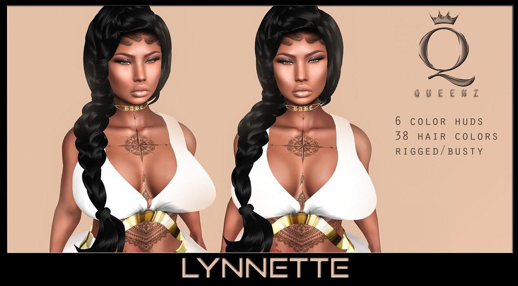 {H} Lynnette Hair - SecondLifeHub.com
