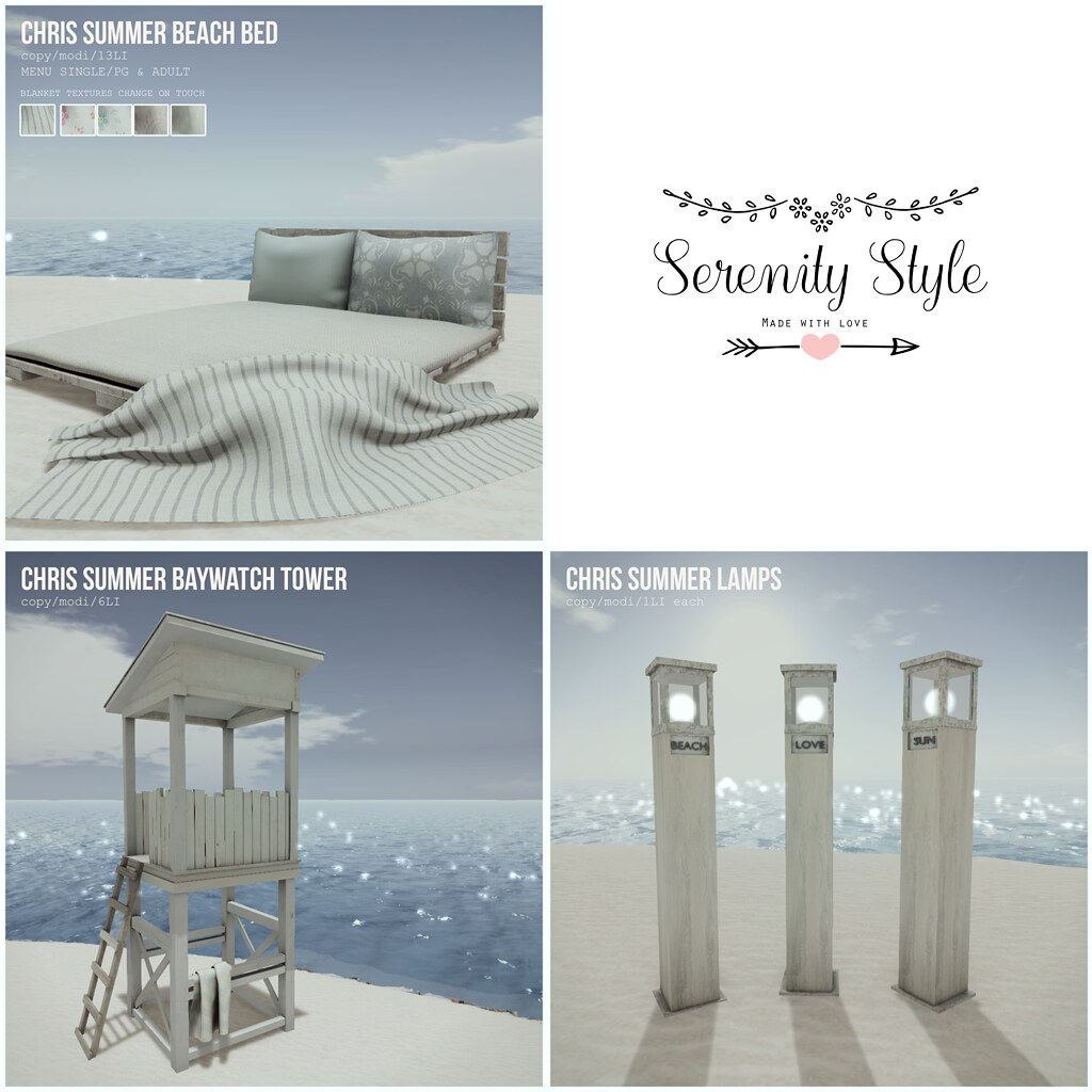 Serenity Style- Chris Summer Collection - SecondLifeHub.com