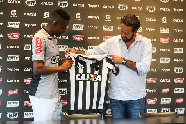 Atlético-MG: Roger Bernardo garante raça com a camisa alvinegra
