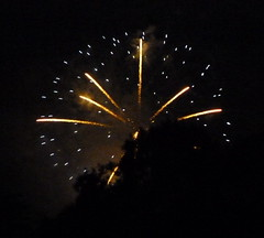 SB Fireworks From Montecito