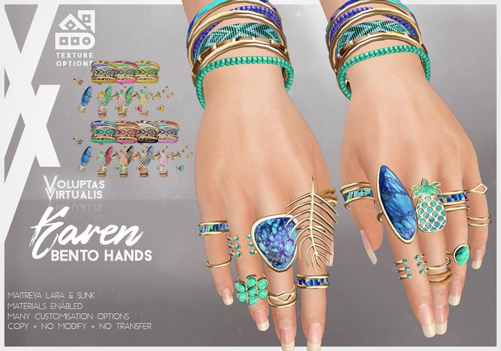 Karen Bento Hands @ TLC