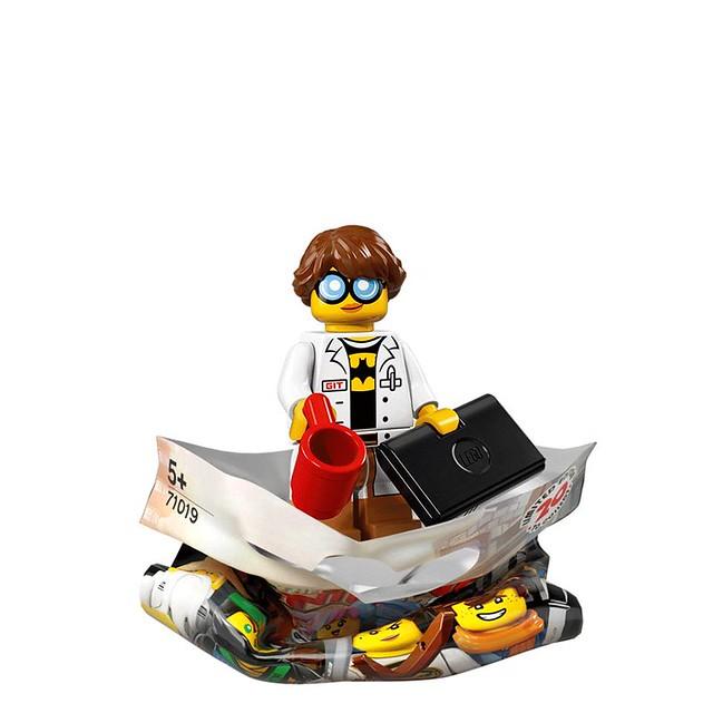 The LEGO Ninjago Movie 71019 Collectible Minifigures 9