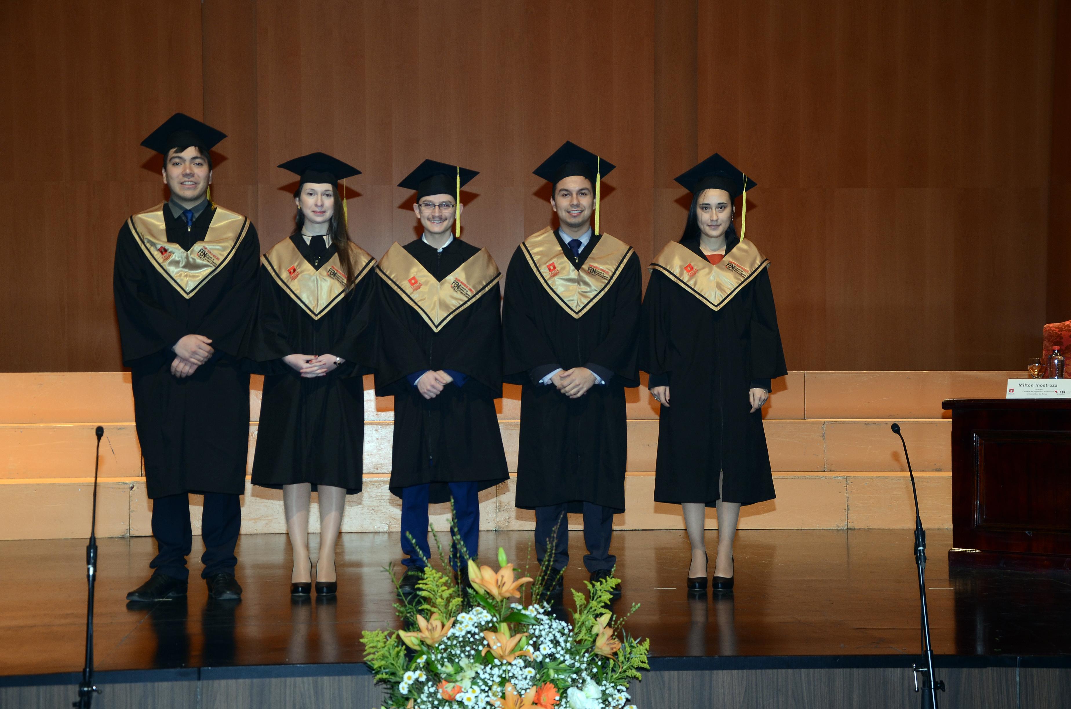 Graduación Magíster en Economía 2017 FEN-UTalca