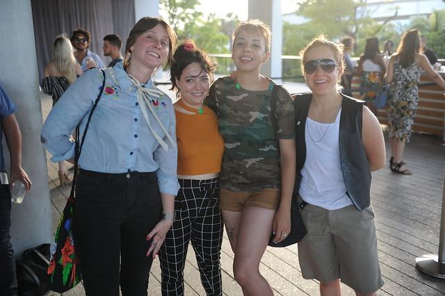 Autumn Casey, Amanda Ortega, Teresa Liberatore, & Mary Lewallen