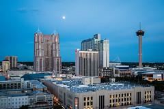 Moonrise Over San Antonio
