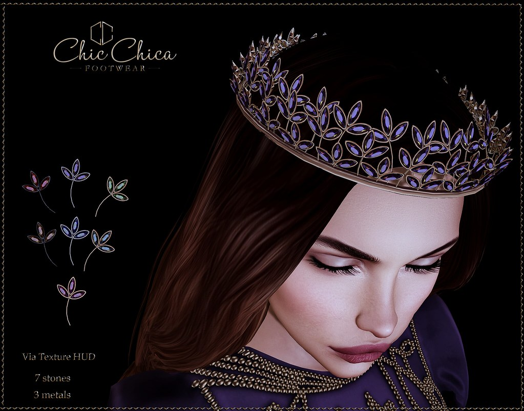Temperance coronet by ChicChica OUT @ The Fantasy Collective