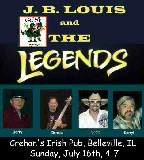 J.B. Louis and The Legends 7-16-17