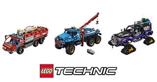 獨特的機械結構美感!!LEGO 科技系列 42068、42069、42070 下半年盒組登場!!