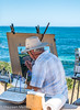 Painter by The Sea