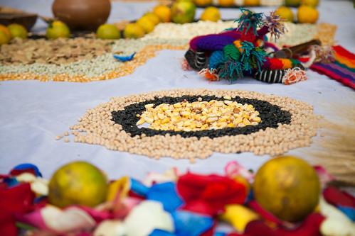 La Cancillería de puertas abiertas celebró la fiesta del Inti Raymi