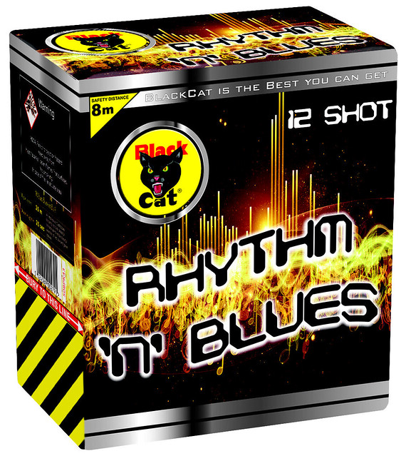 Rhythm N Blues 12 Shot by Black Cat Fireworks
