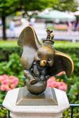 Disneyland Dumbo Statue
