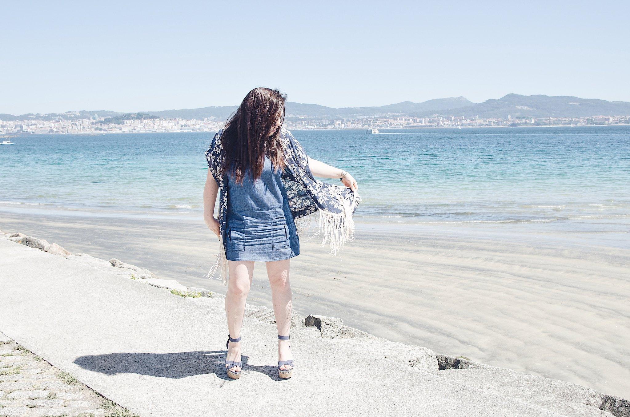 4 formas de combinar un vestido denim
