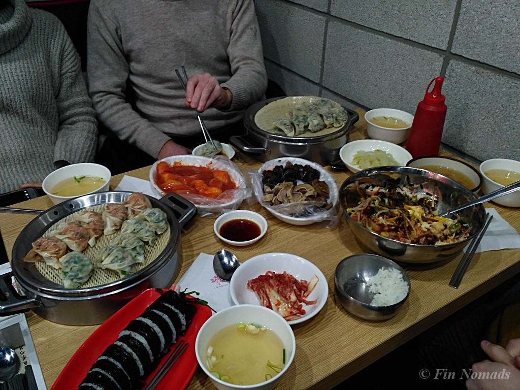 cheap Korean food Seoul