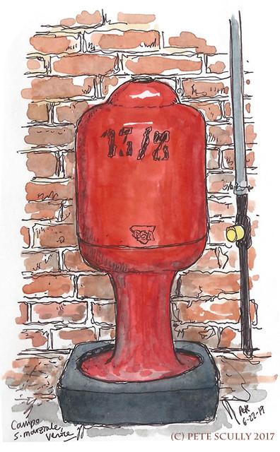Hydrant in Venice