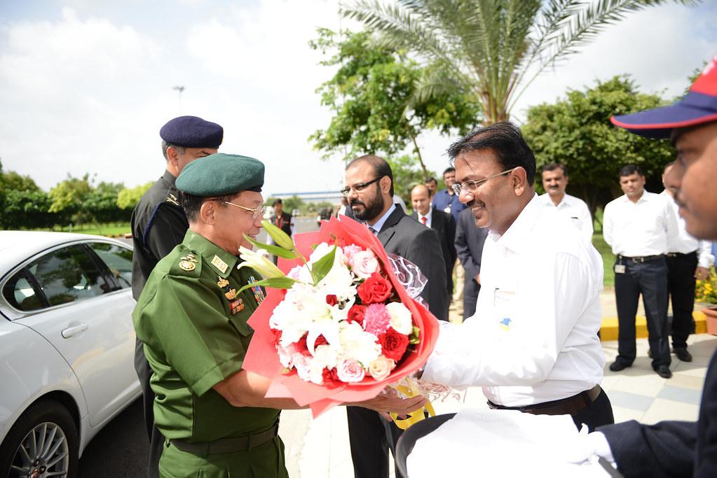 Myanmar lead visit to Tata Motors plant_3