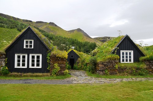 Turf Farmhouse, Skógar Museum. From Unique Things to See and Do in Iceland