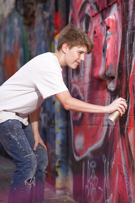 Graffiti Alley Artist Elias