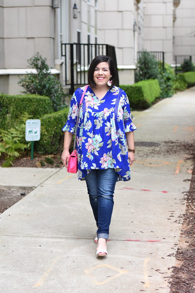 Floral Maternity Top-@headtotoechic-Head to Toe Chic