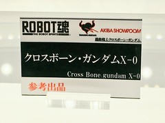 ROBOT SPIRITS Cross Bone gundam X-0 display