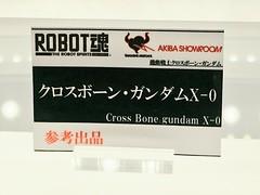 ROBOT SPIRITS Cross Bone gundam X-0 display