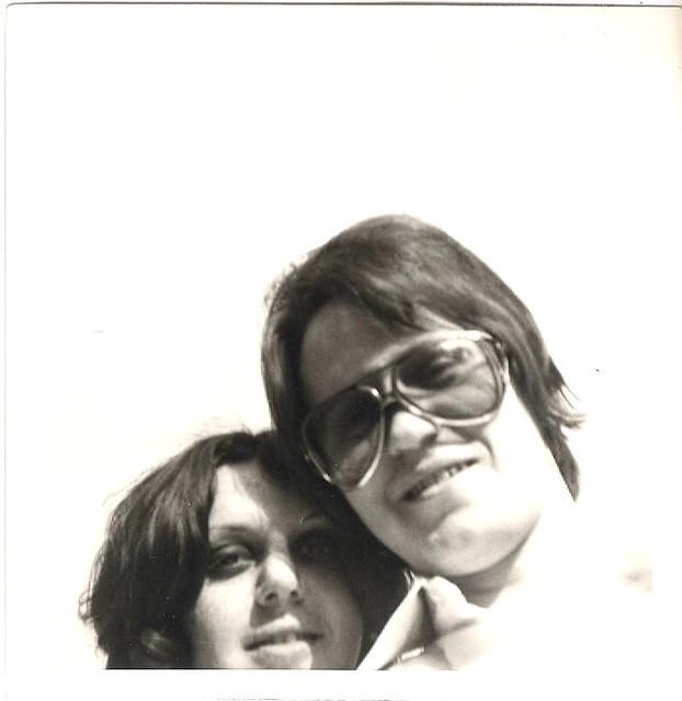 1970 - Our first selfie ! Spring/Frühling