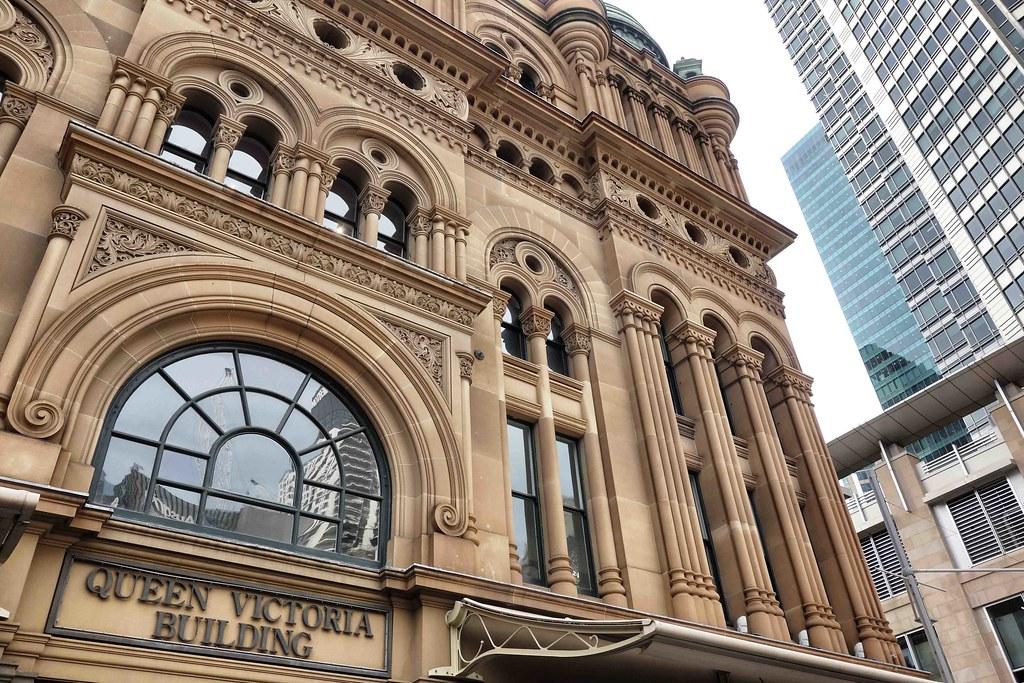 Sydney - Queen Victoria Building