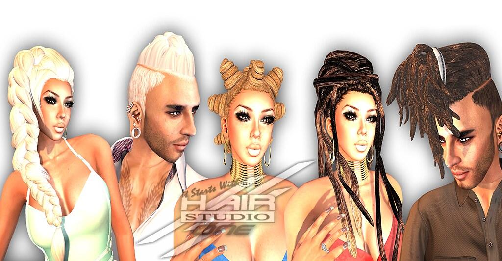 Hair Fair Group picture ONE-Creations/ Hair Studio ONE - SecondLifeHub.com