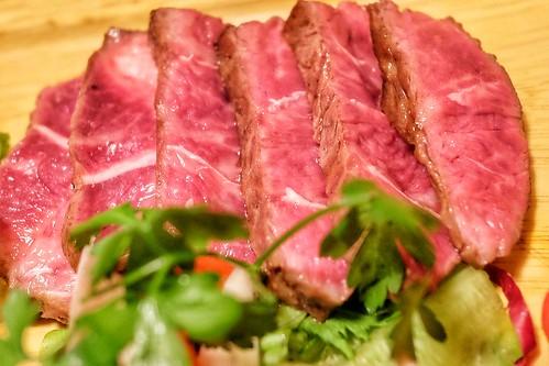 アンガス牛ミスジ 炭火焼きおまかせ5点盛 肉十八番屋 虎ノ門店