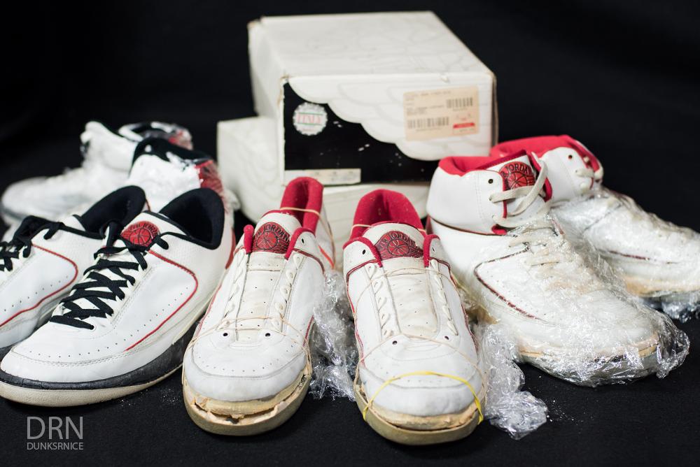 1986/1987 OG Jordan II Set.