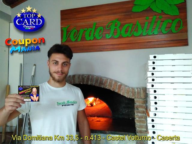 VERDE BASILICO Ristorante Pizzeria - Via Domitiana,413 - Castello Volurno - CASERTA