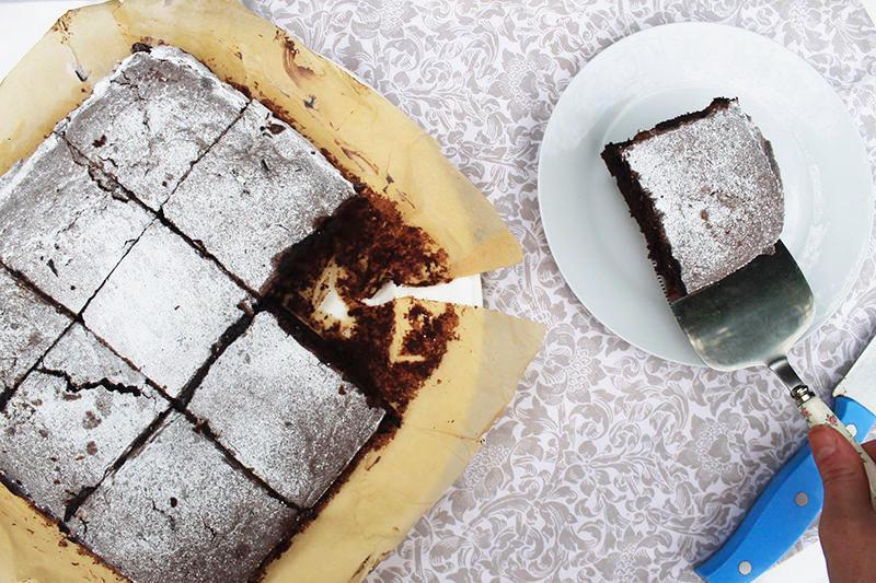 Nigella Lawson gooey brownies recipe UK lifestyle blogger